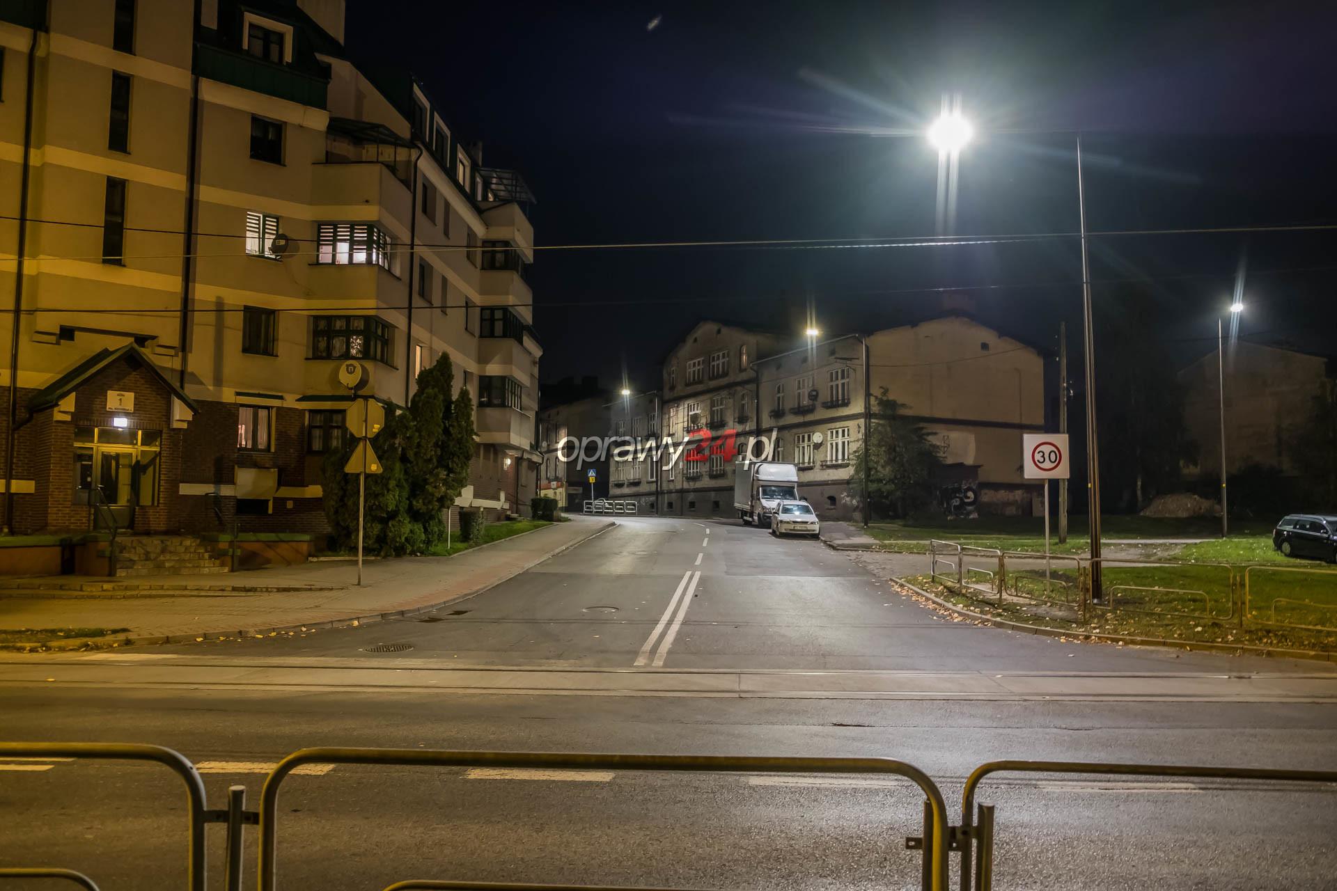 Nowe oświetlenie na ulicy Obrońców Westerplatte