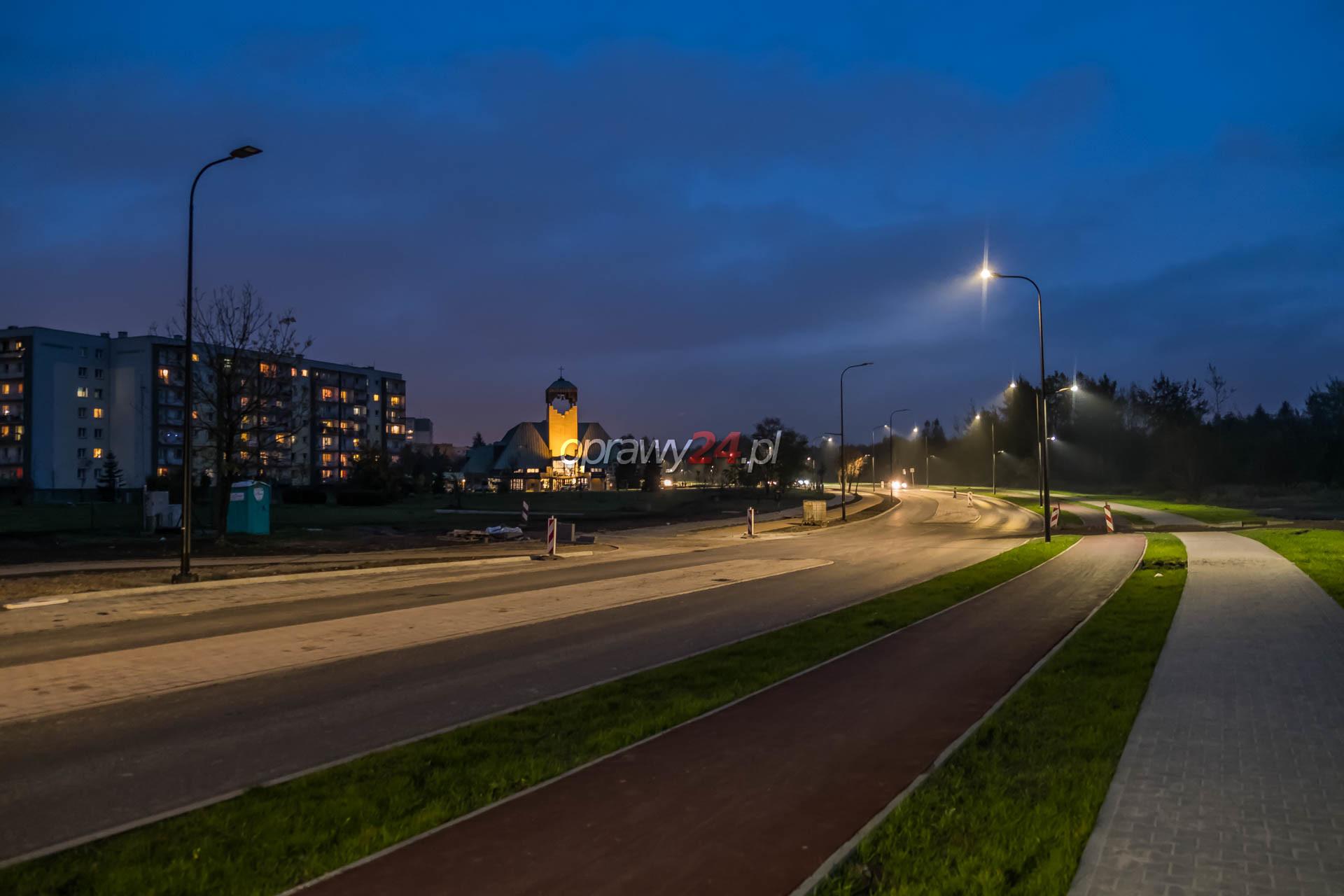 LED-y na Górnośląskiej