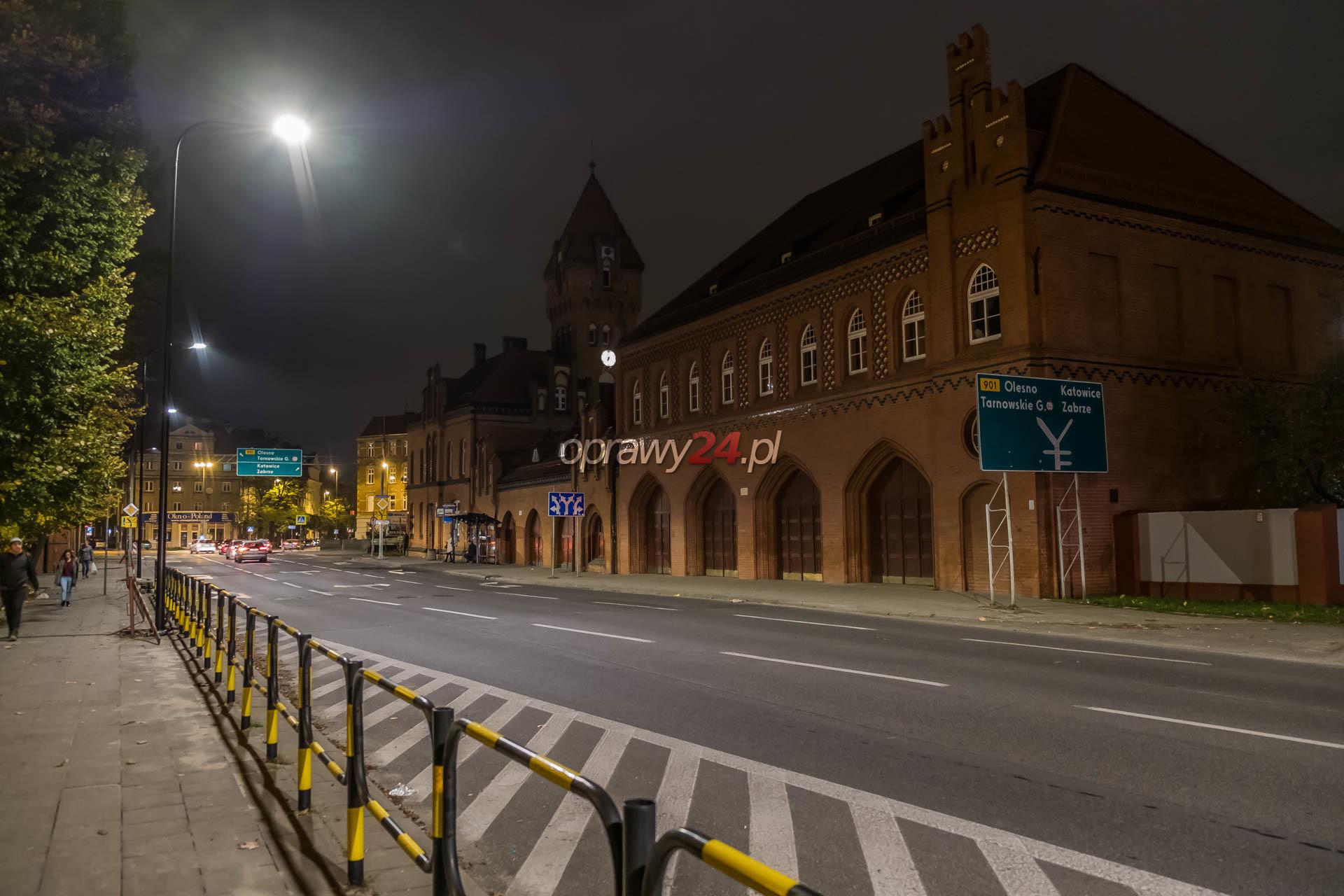 Nowe oświetlenie na Wrocławskiej
