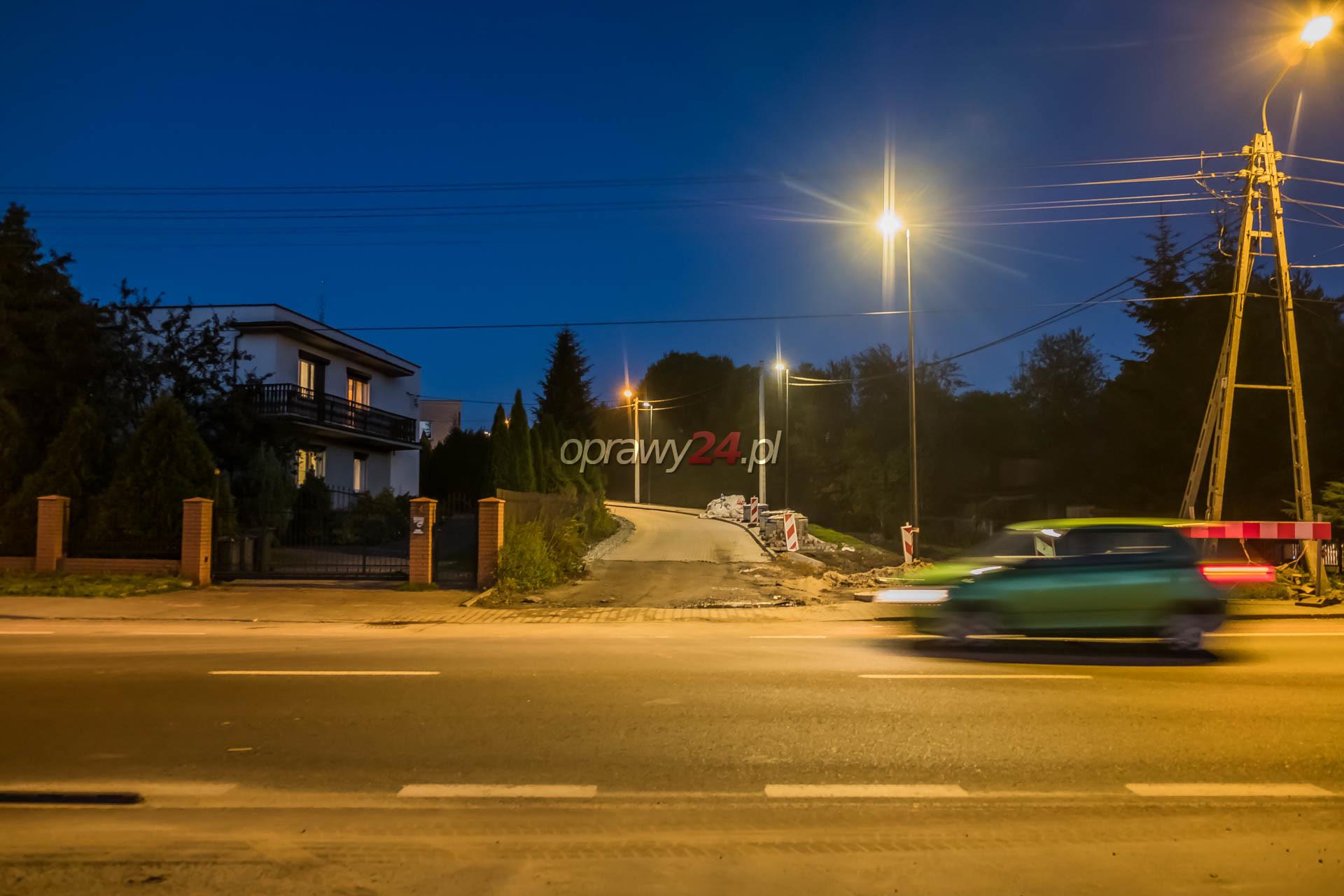 Nowe latarnie LED w dzielnicy Kochłowice