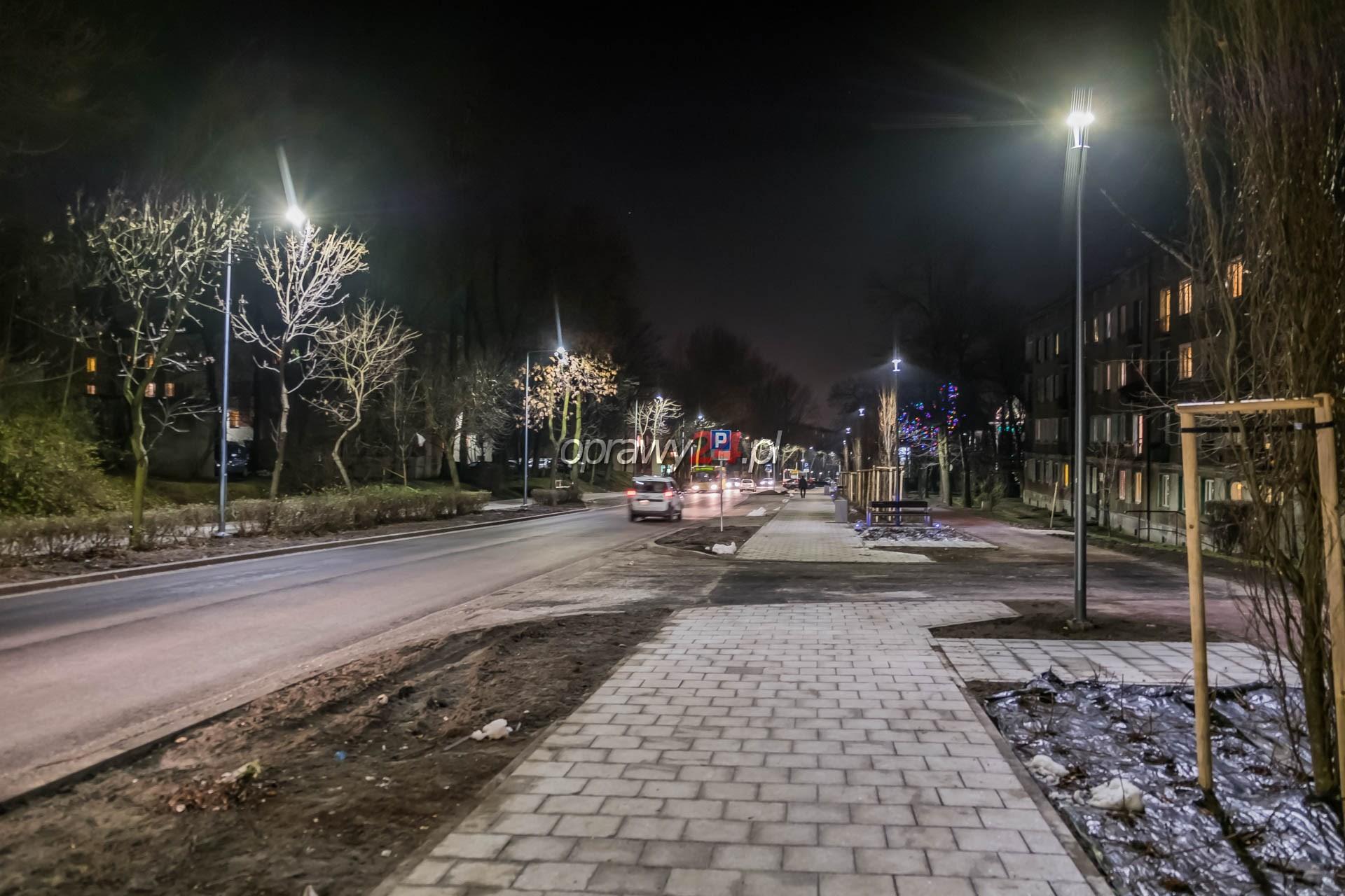 Ulica Kościuszki w nowym świetle