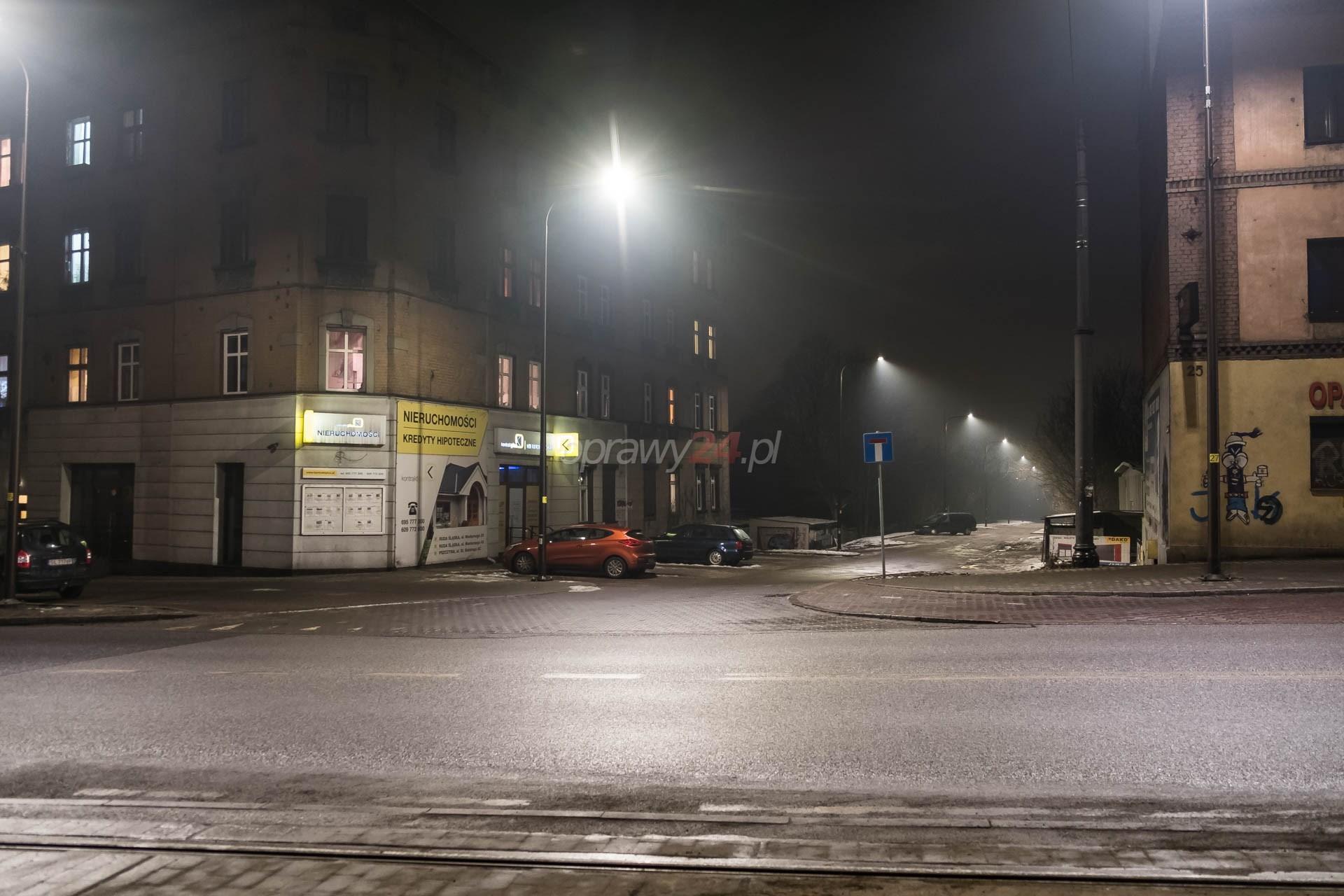 Nowe oświetlenie na Grochowskiej