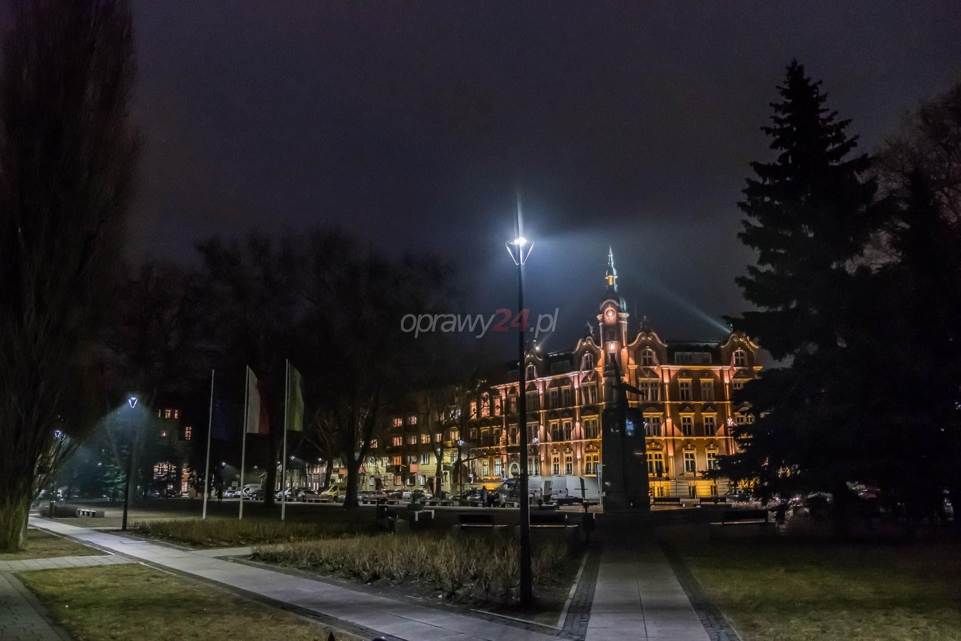 Siemianowice Śląskie z nowym oświetleniem LED