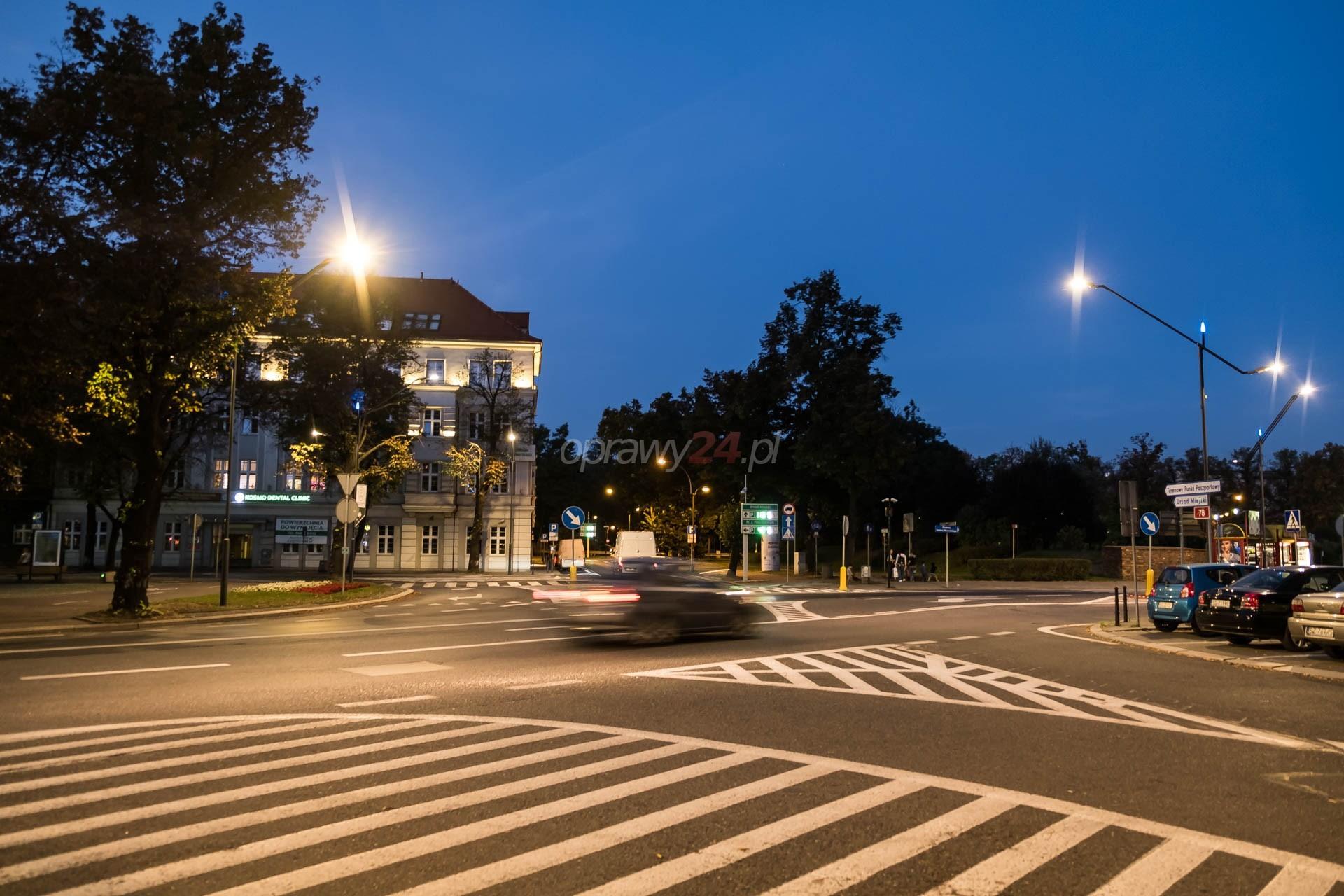 Oświetlenie LED na kolejnych gliwickich ulicach