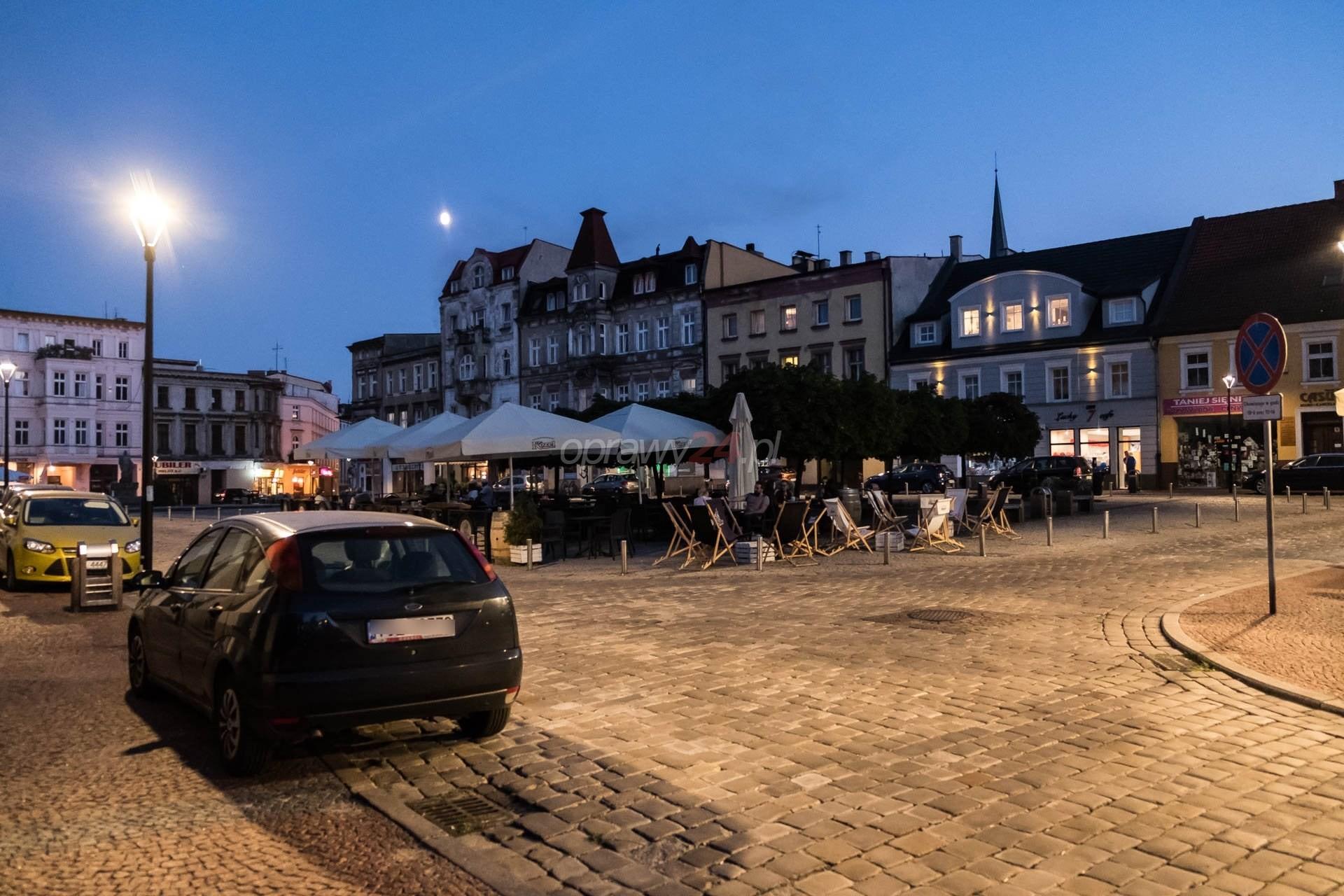 Mysłowickie ulice, parki i place z oświetleniem LED