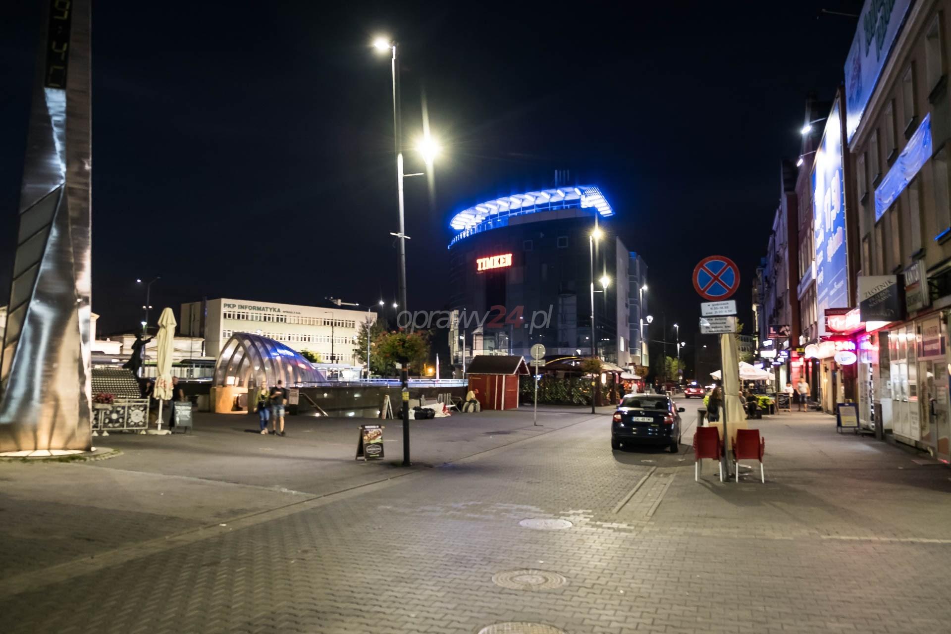 LED-y rozświetliły Sosnowiec